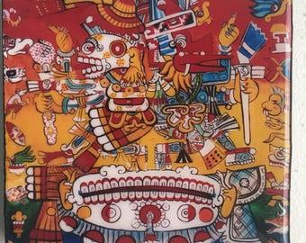 Life and Death - Quetzacoatl and Mictlantecuhtli