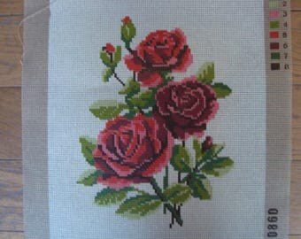 NEW CANVAS ~ RED ROSES