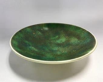 Mossy Green Galaxy Bowl