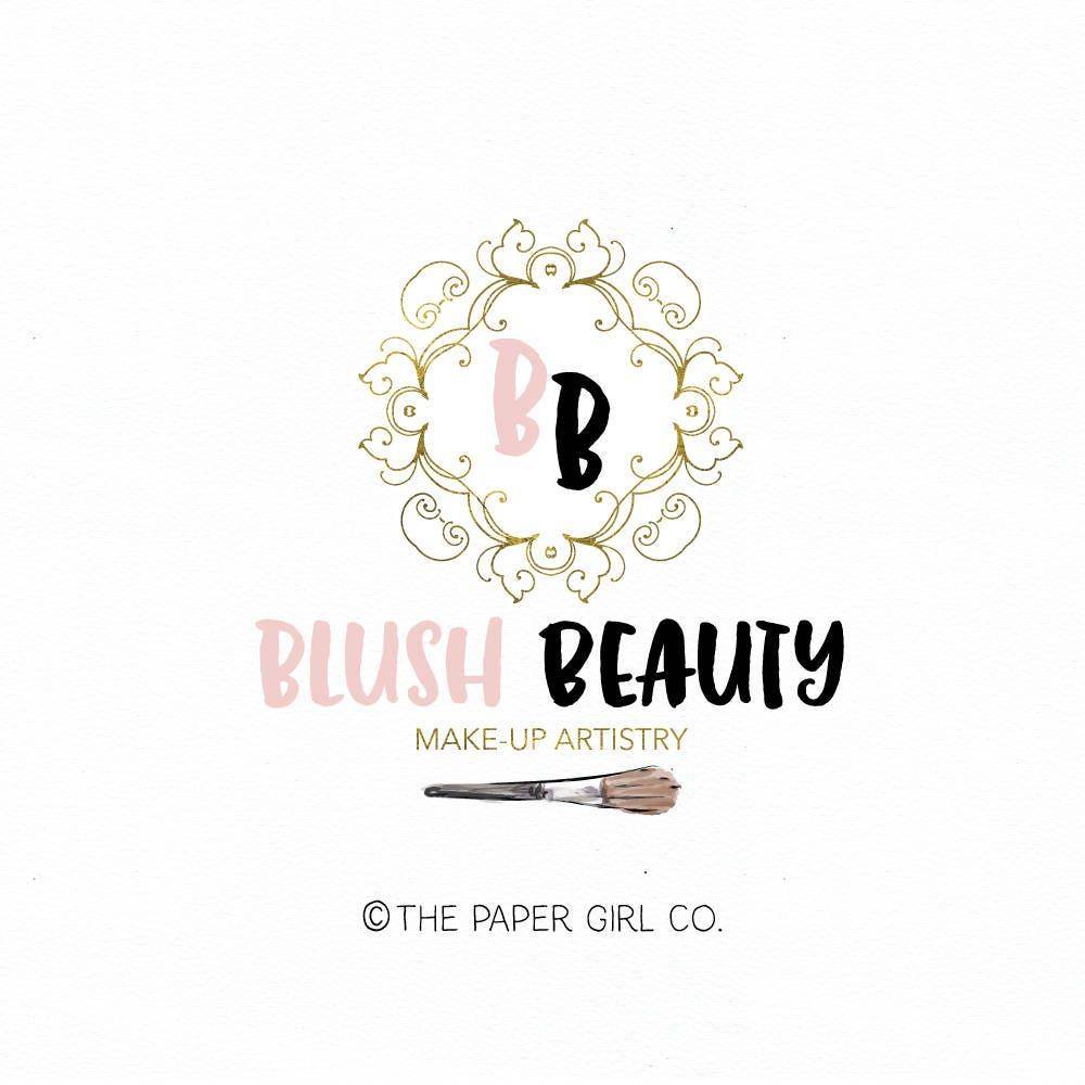 makeup artist logo beauty shop logo stylist logo design