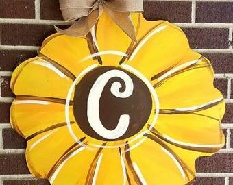 Fall Sunflower Door Hanger