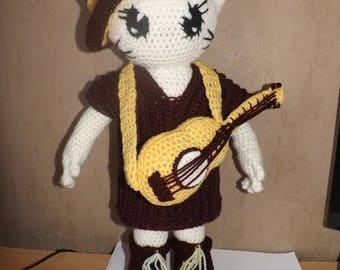 Tutorial set Mexican doll cat