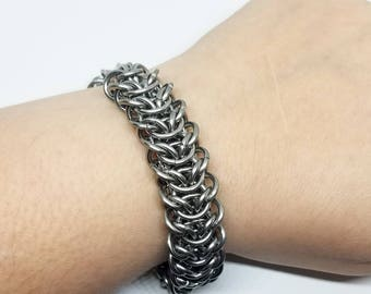 Elf Bridge Stainless Steel Chainmaille Bracelet