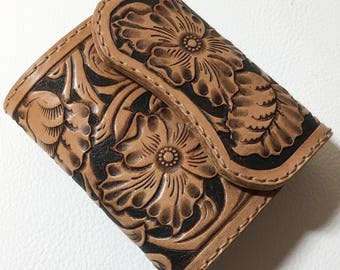 Carving Wallet (folding type)