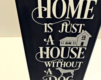 Wall Signs For Home dog wall decor | etsy