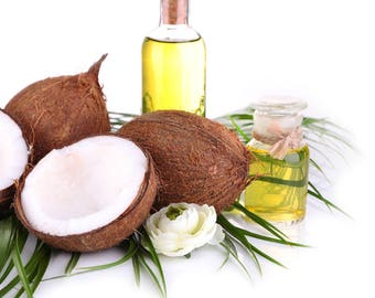 100 % organic Coconut Butter/ oil, use direct on Hair,Body,Face or for making Cosmetics