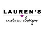 Custom Order for Lauren & Matthew