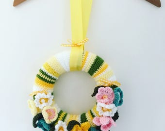 Spring / Summer Crochet Wreath