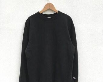 20% OFF Vintage Champion Sweatshirt / 90s Champion pullover / Champion C Logo / Champion Spell Out Sweatshirt / Champion Big Logo / Champion
