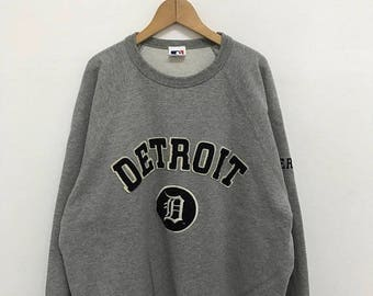 20% OFF Vintage Detroit Tigers Sweatshirt/American Professional Baseball Team/Baseball Clothing