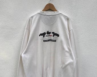 20% OFF Vintage Kansai Yamamoto Up To You Sweatshirt/Kansai Sport/Kansai Sweater/Issey Miyake/Garcons/Yohji Yamamoto