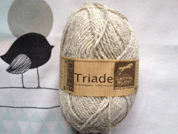 WOOL triad DOE - white horse
