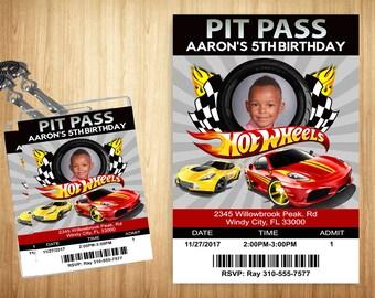 Hot Wheels Pit Pass!