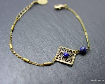 Art deco pearl bracelet
