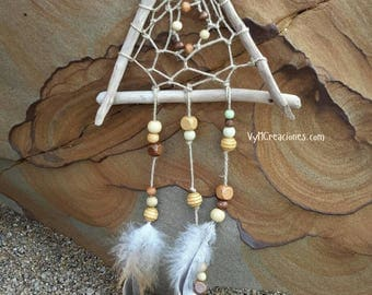 DreamCatcher wood sea, Dreamcatchers, Boho Chic, Hippie, Bohemian, rustic decor decoration decoration