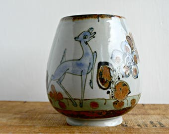 Large Mexican Pottery Mug