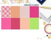 8 Sherbet Collection Full Box Planner Stickers! KT417