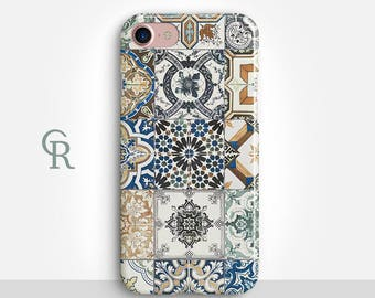Bohemian iPhone 8 Plus Case For iPhone 8 iPhone 8 Plus - iPhone X - iPhone 7 Plus - iPhone 6 - iPhone 6S - iPhone SE - Samsung S8 - iPhone 5