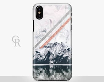 Mountains Phone Case For iPhone 8 iPhone 8 Plus - iPhone X - iPhone 7 Plus - iPhone 6 - iPhone 6S - iPhone SE - Samsung S8 - iPhone 5