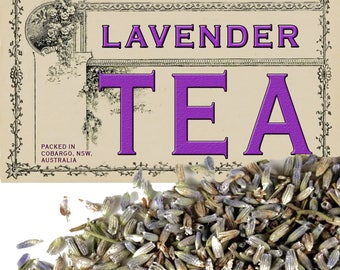 lavender - Organic Herbal Tea - 200g