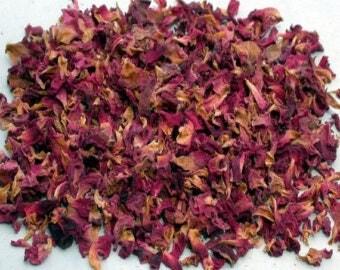 3g dried rose petals, organic