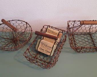 Chickenwire Nesting Basket Set