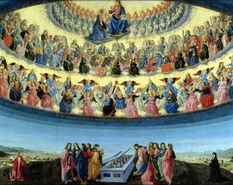 Poster, Many Sizes Available; Assumption Of The Virgin By Francesco Botticini