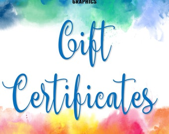 BEACH GIRL GRAPHICS Gift Certificates