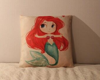 Ariel The Little Mermaid Plush Pillow