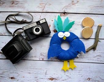 Bird, Camera Lens Buddy, Camera Accessories, Lens Buddy, Crochet Lens Critter, Photographer Helper, Family Photography