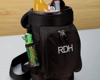 Miniture Golf Bag Cooler (g225-1108) - Free Personalization
