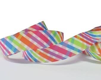 Multicolor Ribbon (1 m) 22mm