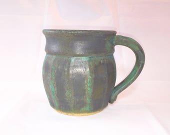 Ceramic Mug - Wheel Thrown - Hot & Cold Beverages - Coffee - Tea - Hot Chocolate - Pottery - Handmade Mug - Pottery Mug