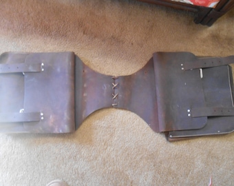 Pre-Owned Leather SADDLEBAG Horse or Motorcycle