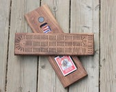 Walnut Cribbage board
