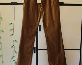 Vintage Tyler Boe Gold Velvet Pants