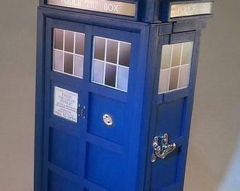 ON SALE NOW Tardis inspired Treasure Box