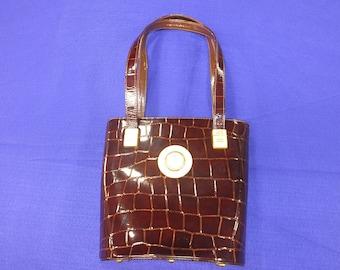 Vintage 80s Genuine Gianni Versace Handbag