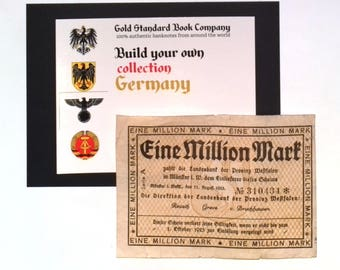 1923 Germany WESTFALEN 1.000.000 / 1 Million Mark Banknote
