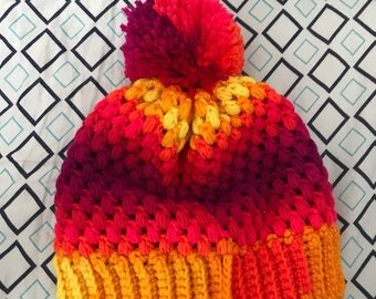 Puff Slouch Beanie/Hat