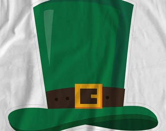 Saint Patrick's Day - Leprechaun Hat - Iron On Transfer