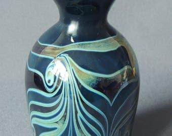 Erwin Eisch-Design Vase * 1988 * Studio-Glass