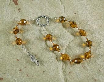 Freyja (Freya) Pocket Prayer Beads: Norse Goddess of Love, War, Passion, and Magic
