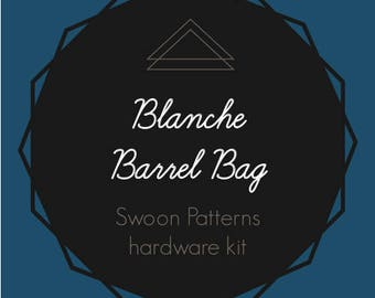 Blanche Barrel Bag - Swoon Hardware Kit - Rectangle Rings