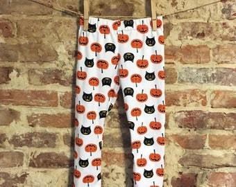Pumpkin & Cat leggings