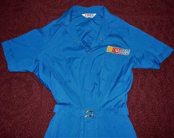 NASCAR Coveralls Rare Owned By Former Flagman