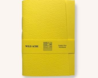Origin One Factory Yellow A6 Notebook