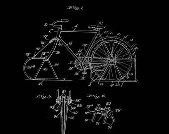 Bicycle Sled Patent #1268229 dated June 4, 1918.