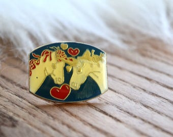 Vintage Unicorn Pin