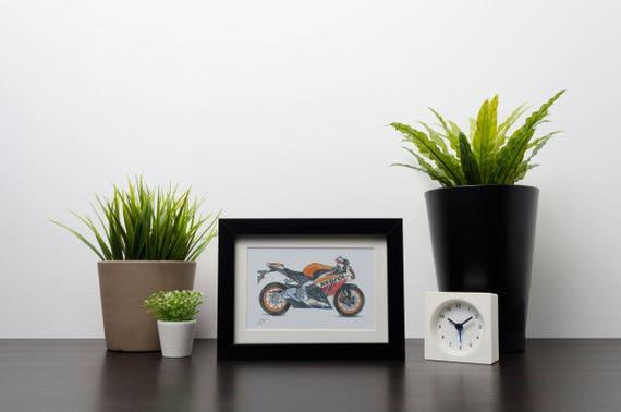 Honda Fireblade CBR 1000RR | Art Print | Instant Digital Download